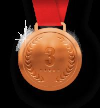 bronze-third